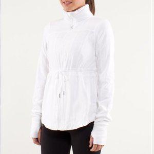 Lululemon Inner Peace Track Jacket White Size 12